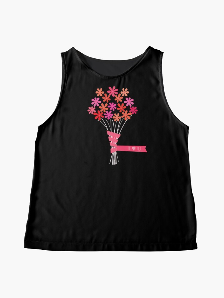 Alternate view of Flowers for You! Sleeveless Top