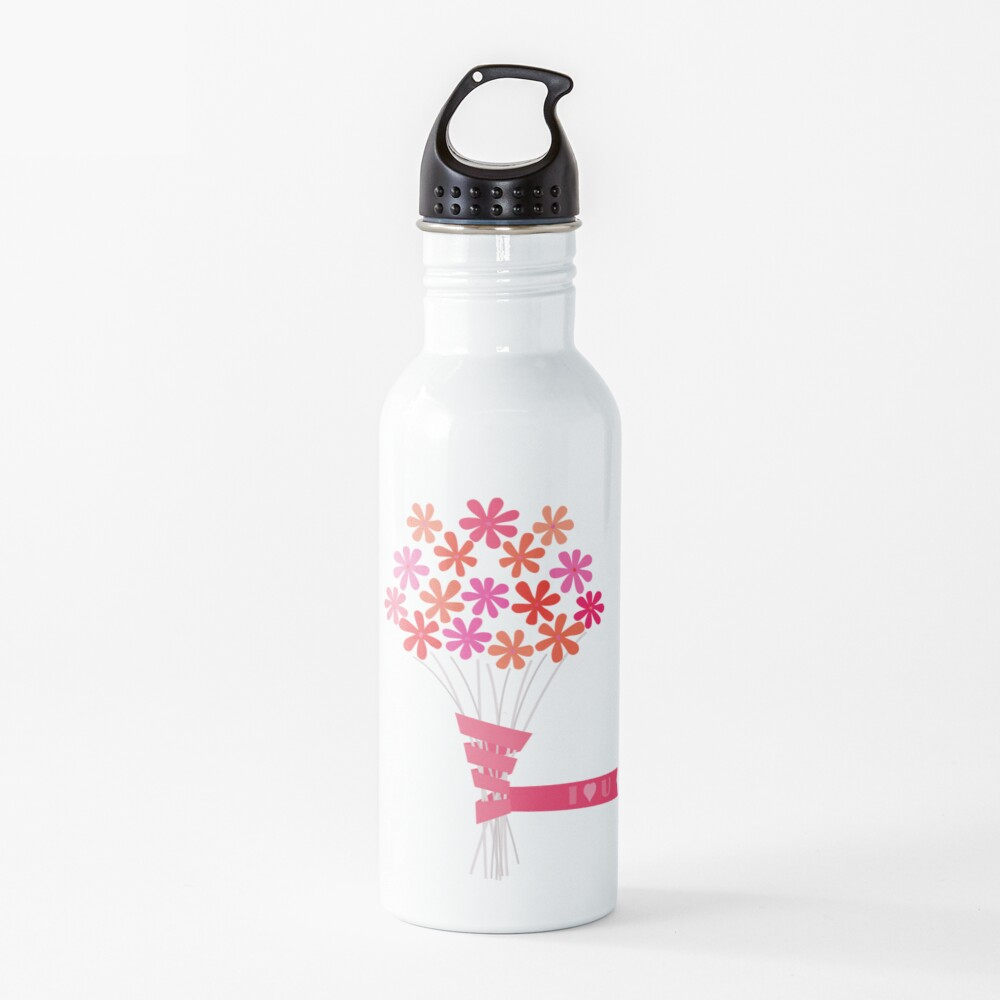 Flowers for You! Water Bottle