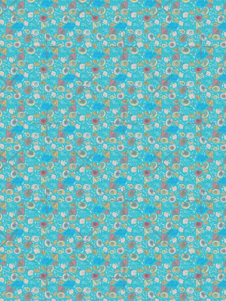 Shells and Fish Pattern by rusanovska