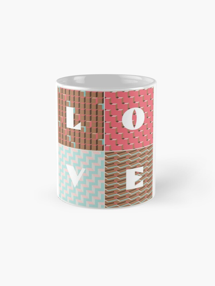 Alternate view of LOVE Mug