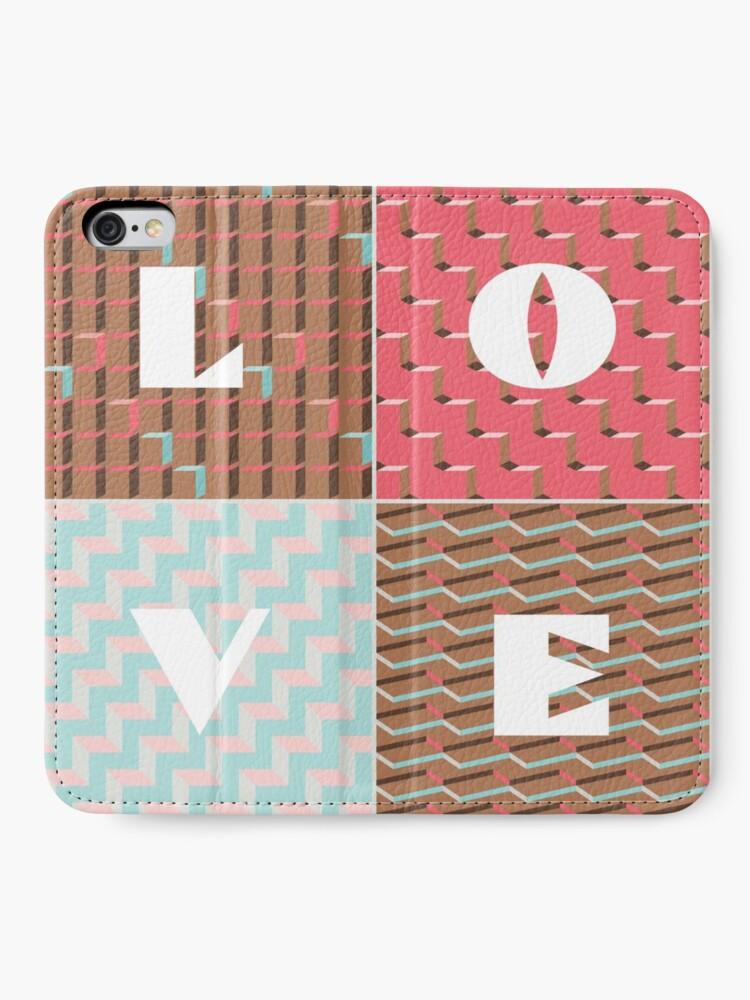 Alternate view of LOVE iPhone Wallet