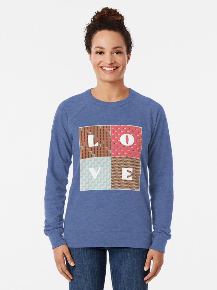 Alternate view of LOVE Lightweight Sweatshirt