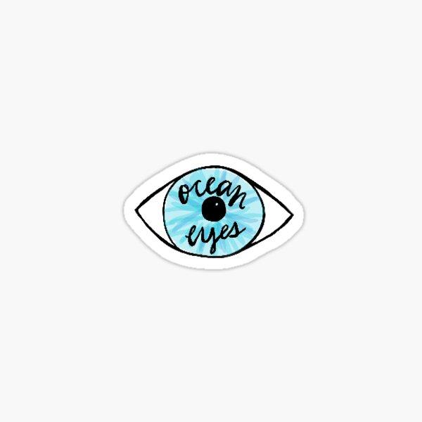 Billie Eilish Ocean Eyes Pegatina