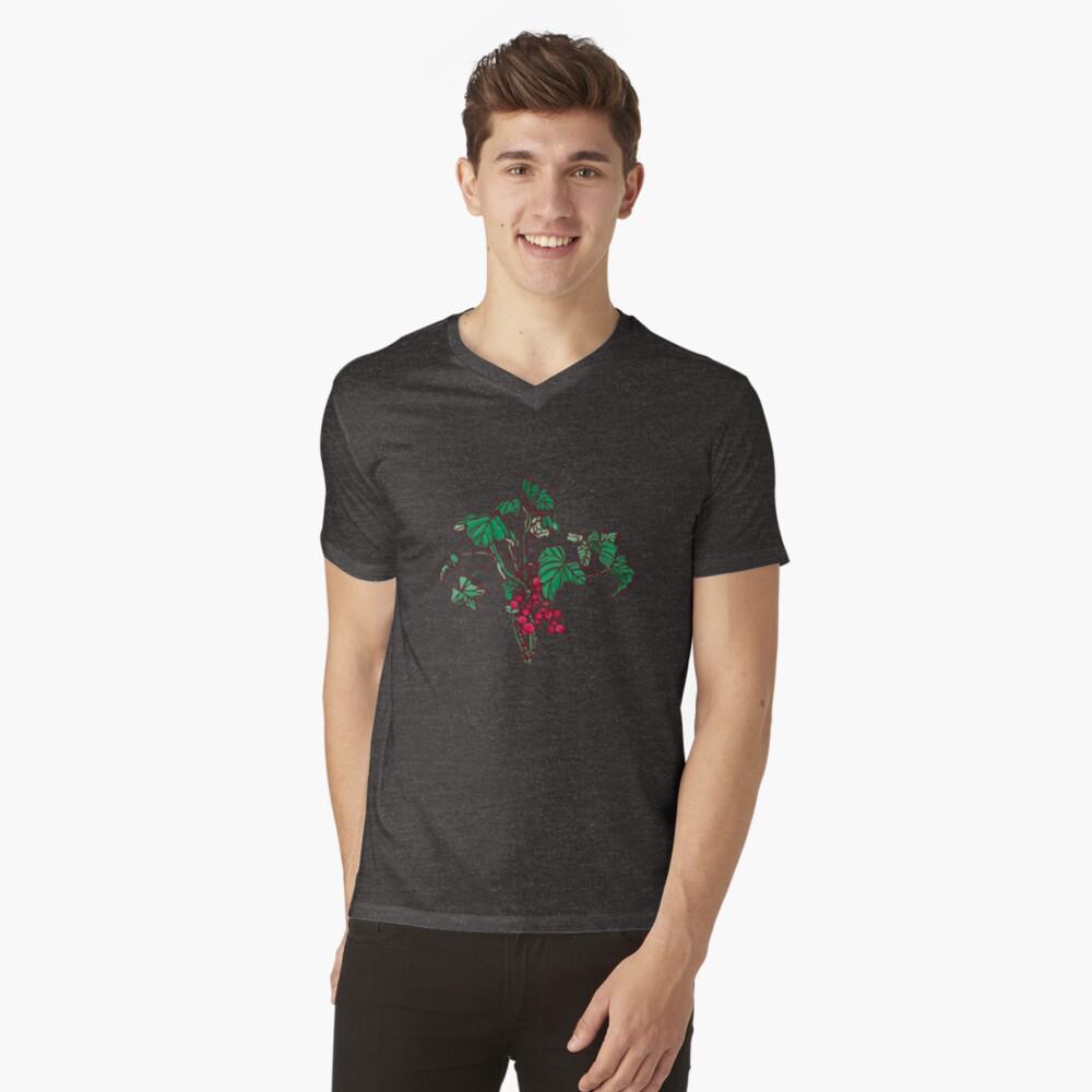 Currant V-Neck T-Shirt