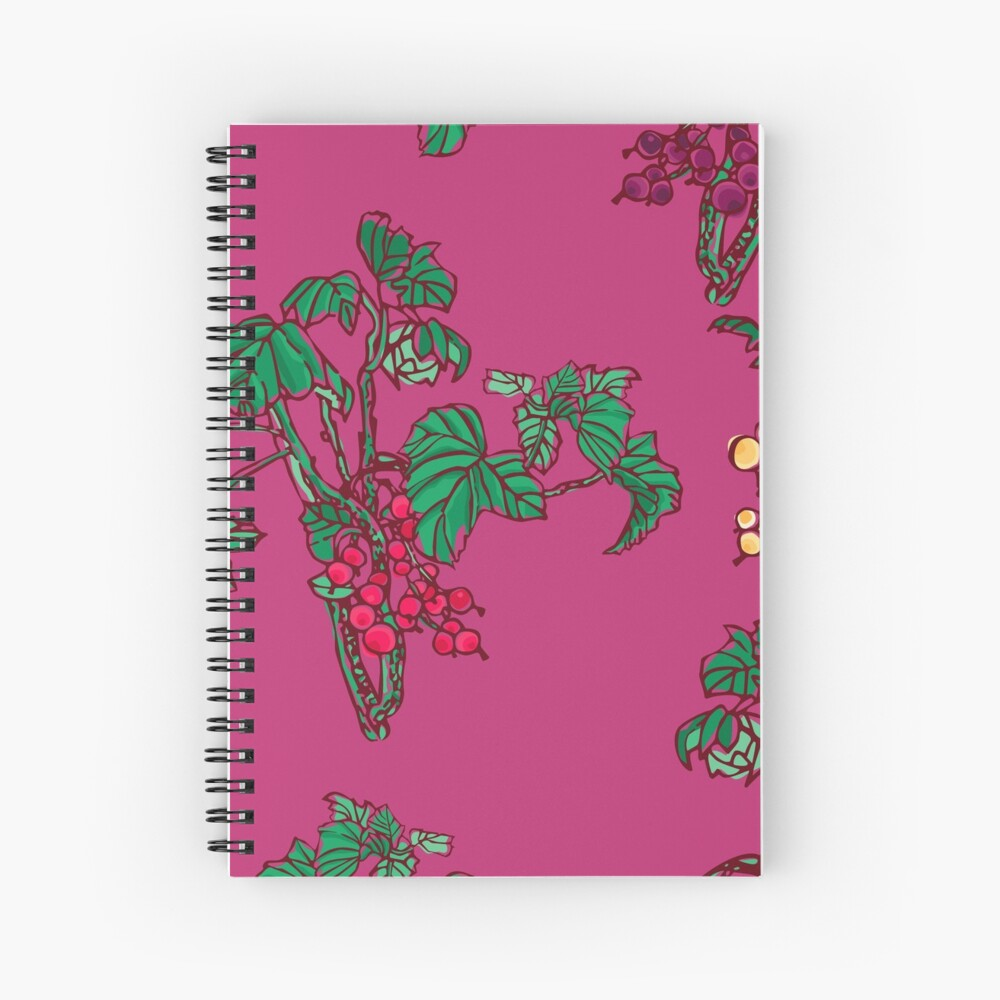Currant Spiral Notebook