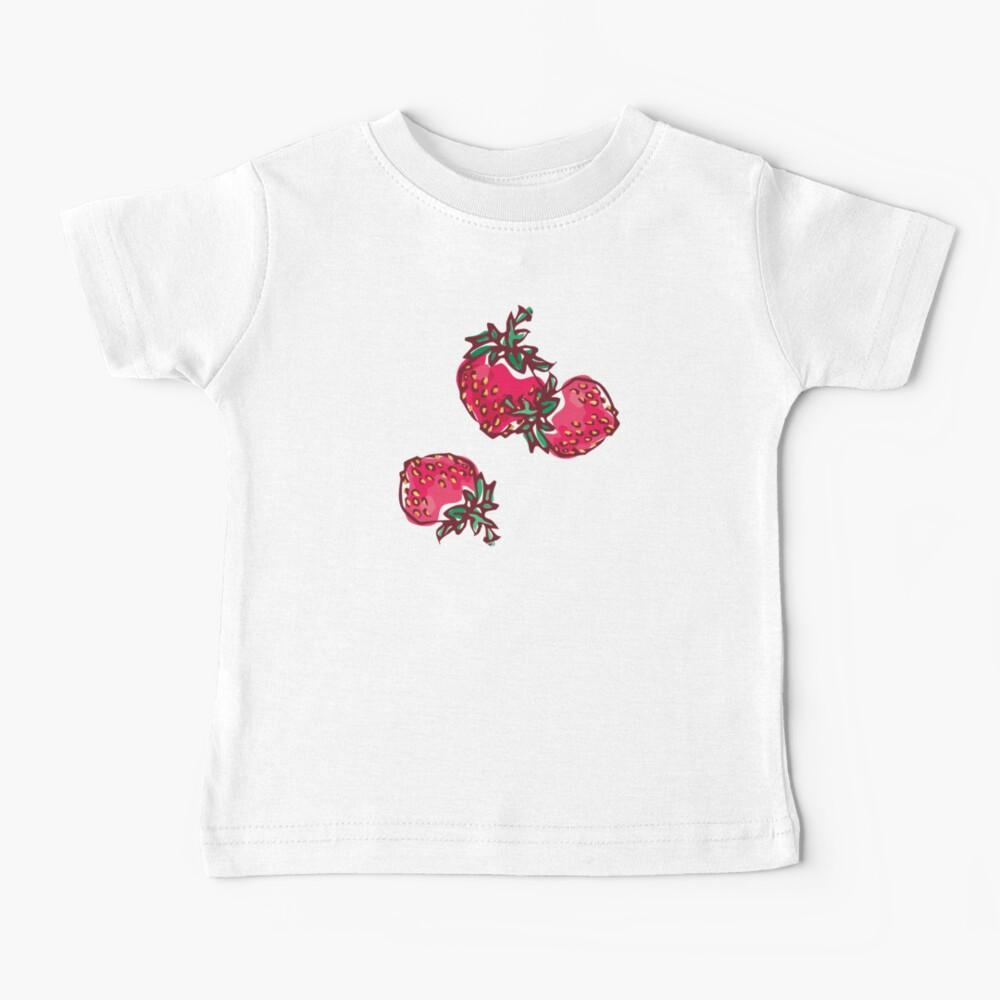 Decorative Strawberry Baby T-Shirt