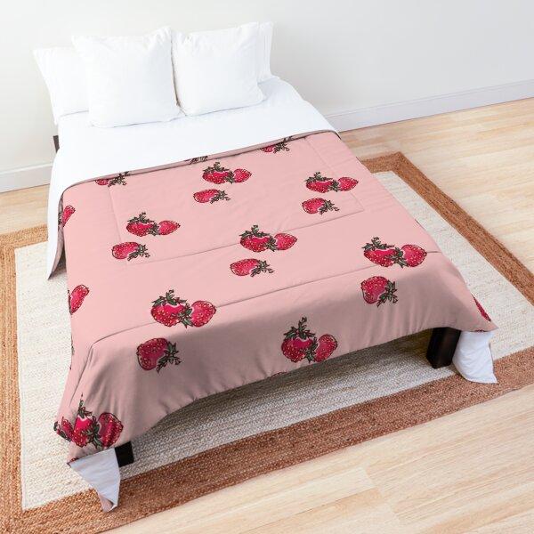 Decorative Strawberry Comforter