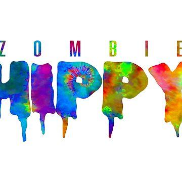 ZombieHIPPY • Logo Typeface TIE DYE by ZombieHippy