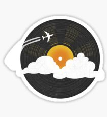 Sunburst Records Sticker