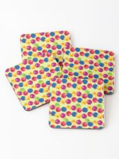 Colorful Berries Coasters