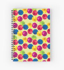 Colorful Berries Spiral Notebook