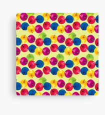 Colorful Berries Canvas Print