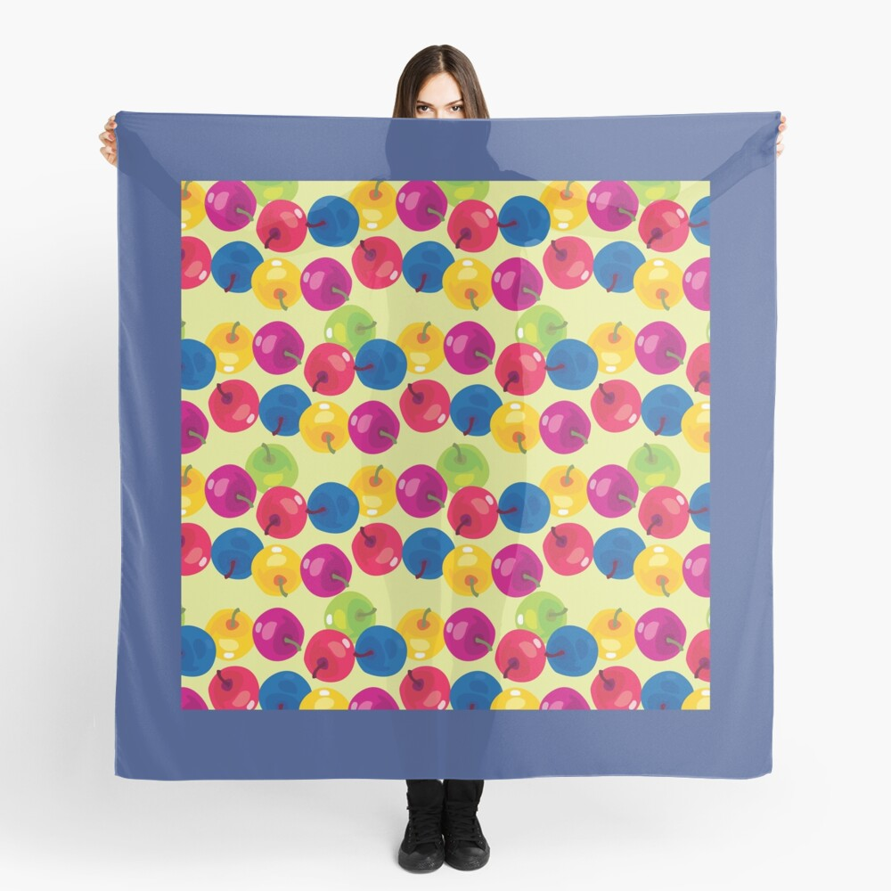 Colorful Berries Scarf