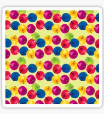 Colorful Berries Glossy Sticker