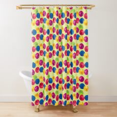 Colorful Berries Shower Curtain