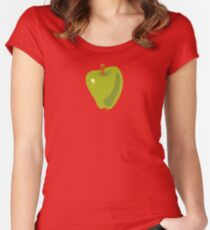 Green Apple Fitted Scoop T-Shirt