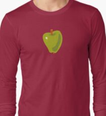 Green Apple Long Sleeve T-Shirt