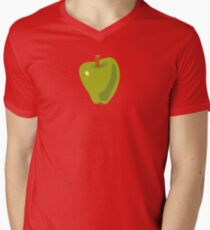 Green Apple V-Neck T-Shirt