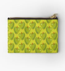 Green Apple Zipper Pouch