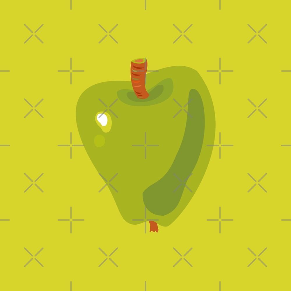 Green Apple by rusanovska