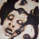 Faces, Bernard Lacoque-64 by ArtLacoque