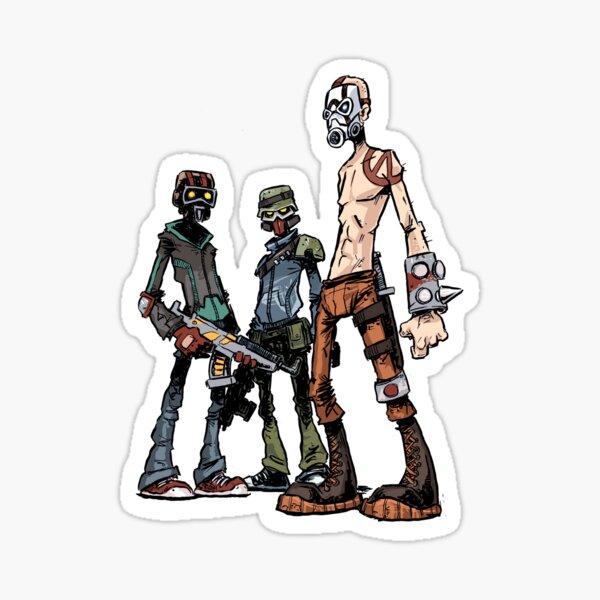 Borderlands: Bandits Sticker