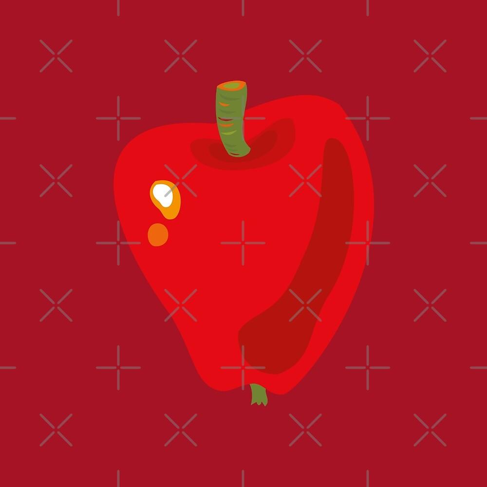 Red Apple by rusanovska