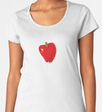 Red Apple Premium Scoop T-Shirt