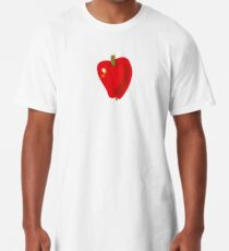 Red Apple Long T-Shirt