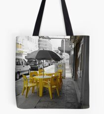 yellow chairs  Tote Bag