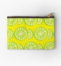 Lime Zipper Pouch