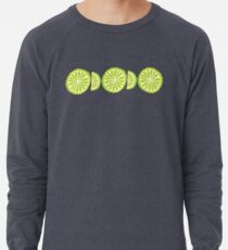 Lime Lightweight Sweatshirt