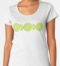 Lime Premium Scoop T-Shirt