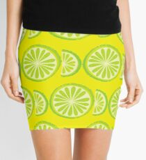 Lime Mini Skirt
