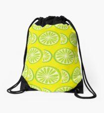 Lime Drawstring Bag