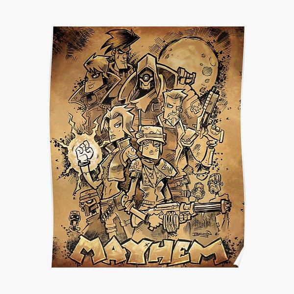 Borderlands 3 - Mayhem Poster