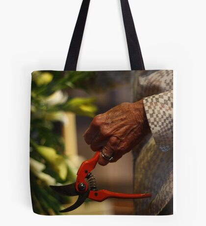 A life with flowers ... Tote Bag