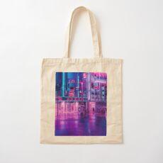 Neon Nostalgia Cotton Tote Bag