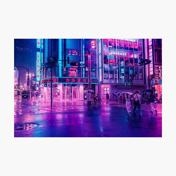 Neon Nostalgia Photographic Print