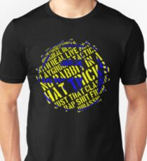 J5 - Concrete Schoolyard Slim Fit T-Shirt