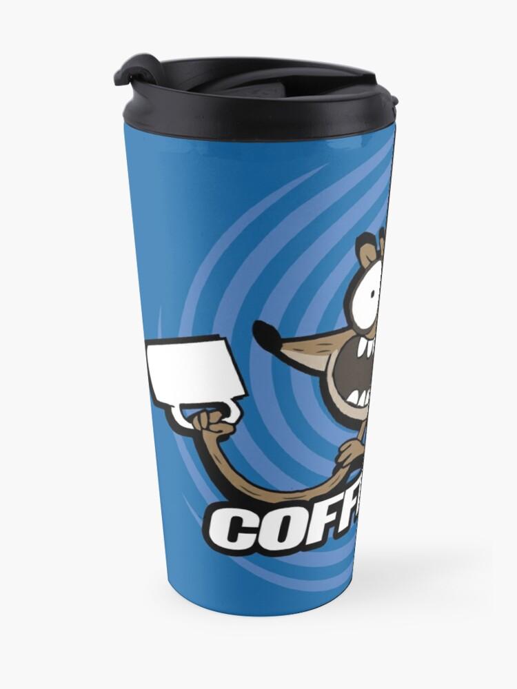 Alternate view of Coffee Time! Travel Mug