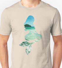 Mermaid ocean beach boho cool trendy pretty design T-Shirt