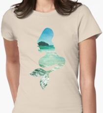 Mermaid ocean beach boho cool trendy pretty design T-Shirt