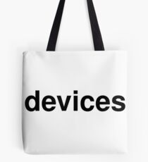 devices Tote Bag