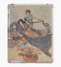 Till the tale of her mirror contented her. iPad Case/Skin