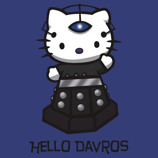 TShirtGifter presents: Dalek Kitty