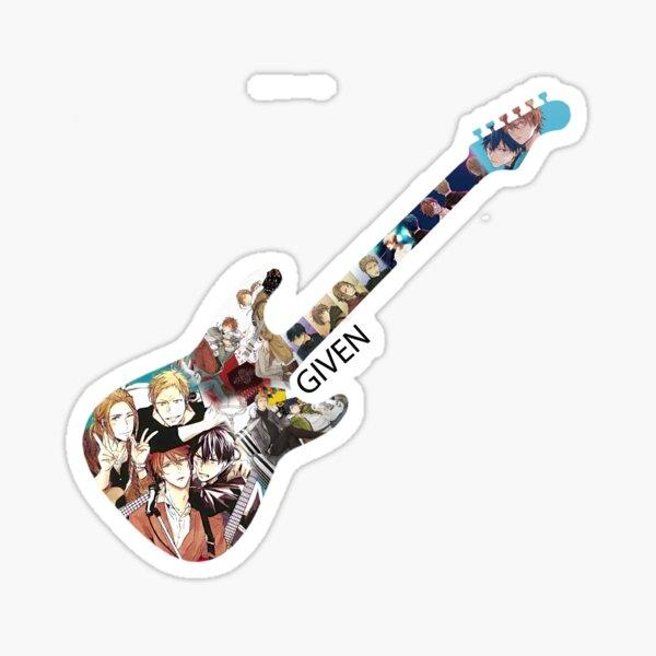 Produit Fan donné - Guitare 02 Sticker