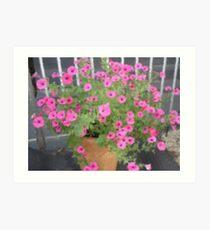 Pink Fantasia -Corel Photo painter Art Print