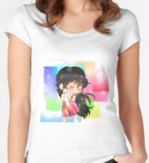bird fantasy Women's Fitted Scoop T-Shirt