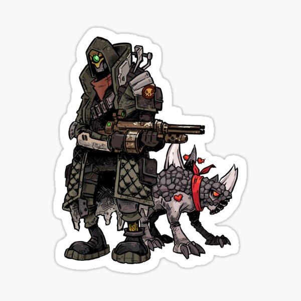 Borderlands 3 - Fl4k Sticker